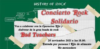 Concierto de Rock solidario con Bad Teachers