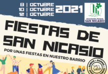 Las fiestas, no-fiestas de San Nicasio 2021.