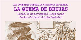 jornada xiv contra la violencia de genero leganes teatro konkret w.i.t.c.h. coloquio zarzaquemada